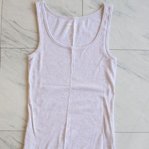 Oatmeal Old Navy fitted tank